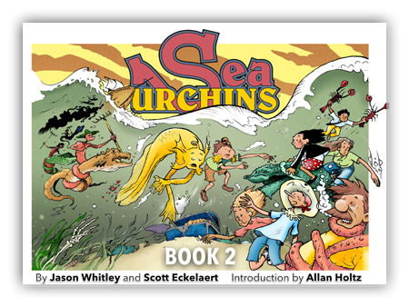 Sea Urchins Book II cover